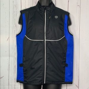 Gold's Gym Athletic Vest vented reflective S/M